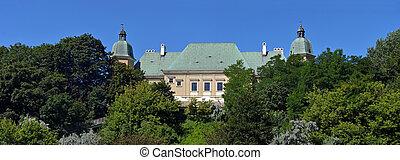 Panorama of Ujazdowski Castle