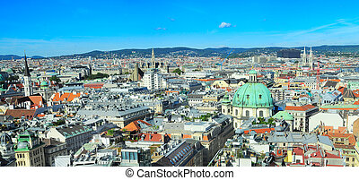 Panorama of Vienna from St. Stephen's Cathedral