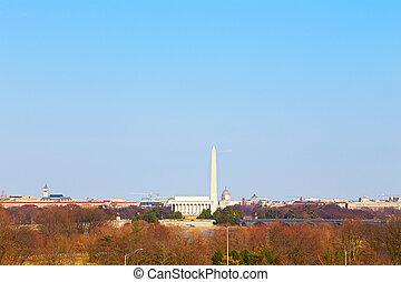 Panorama of Washington DC