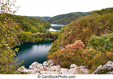 Panorama Plitvice