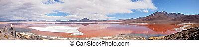 Panorama Red Lagoon, Bolivia