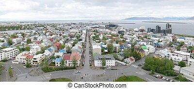 panorama, reykjavik