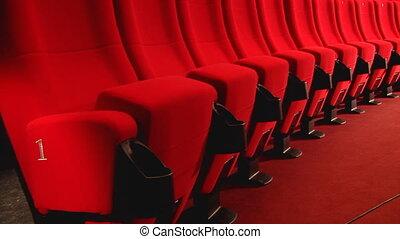 panorama, salle, cinéma