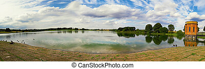 sywell country park - Panorama scene of sywell country park ...