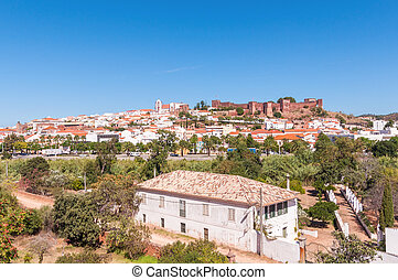 panorama, silves, portugal