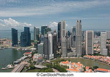 panorama, singapour