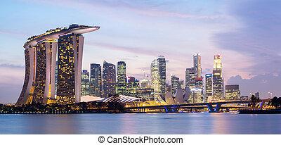 panorama, singapur