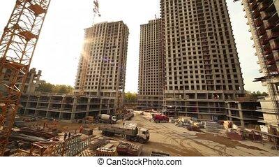 panorama, site construction