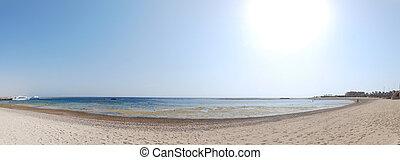 panorama, spiaggia
