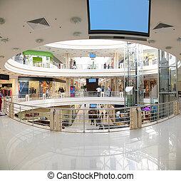 panorama, tienda