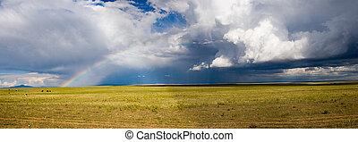 panorama, tormenta