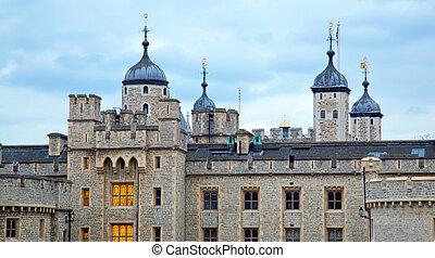 Tower of London at dusk