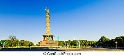 panorama victory column in berlin