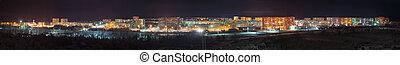 Panorama - view night city