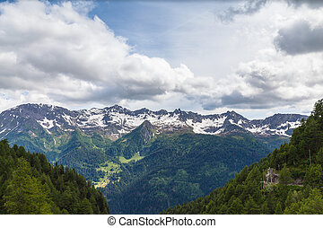 Panorama view of the Alps in Ticino - Panorama view of the ...