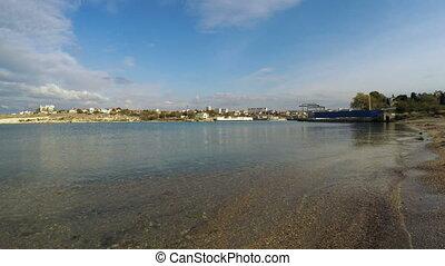 Panorama views of the South Bay - RUSSIA, SEVASTOPOL,...