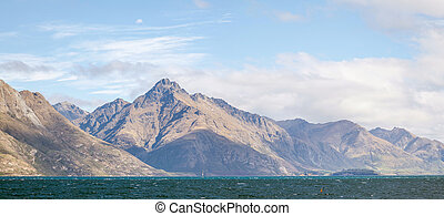panorama, wakatipu, meer, queenstown