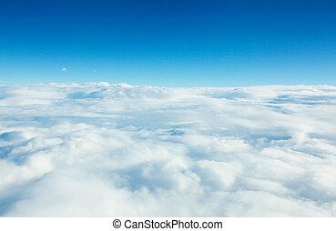 panorama, wolkengebilde