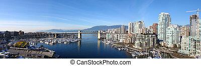 panoramatický, vancouver