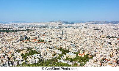 Panoramia of Athens City