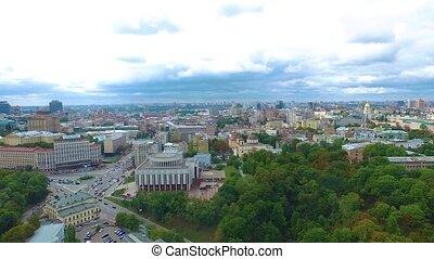 Panoramic aerial