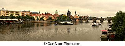 Charles Bridge in Prague,