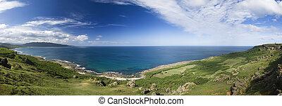 panoramic coastline - It is a beautiful panoramic coastline...