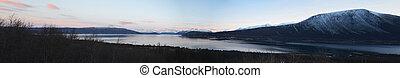 Panoramic Fjord