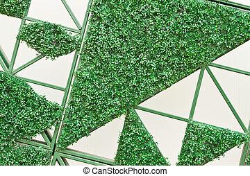 panoramic Green leaves