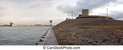Caland barrage