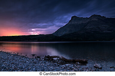 Waterton Lakes National Park, Alberta, Canada - Panoramic...