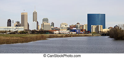 Panoramic Indianapolis