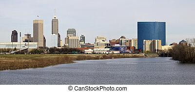 Panoramic Indianapolis