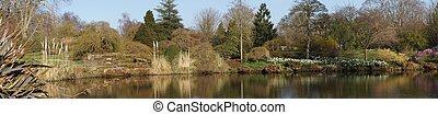 Panoramic Lake View in an English G