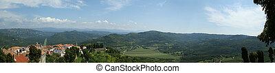 Panoramic landscape
