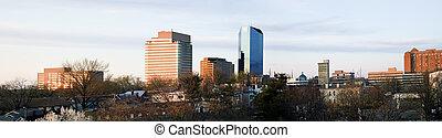 Panoramic Lexington, Kentucky, USA, North America.