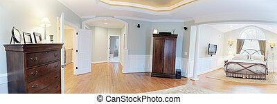 Panoramic Master Suite Interior