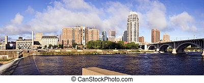 Panoramic Minneapolis