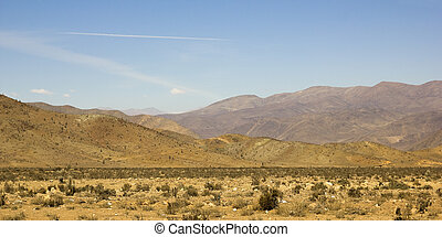 Panoramic of Atacama mountains