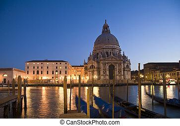 Basilica of Santa Maria della Salute - Panoramic of Basilica...