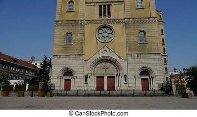 Panoramic of Catholic Church
