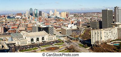 Panoramic of Kansas City
