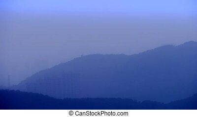 Panoramic of Mountains & hill