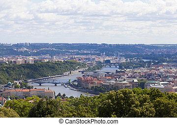 Panoramic Prague