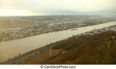 Panoramic View Germany (Near Bonn)