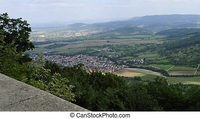 panoramic view in Germany