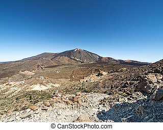 panoramic view of a mountain