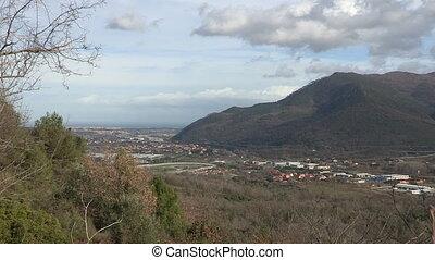 Panoramic view of Albenga