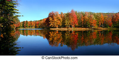 Allegheny state park - Panoramic view of Allegheny state...
