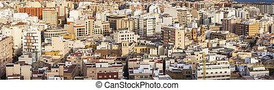 Panoramic view of Almeria
